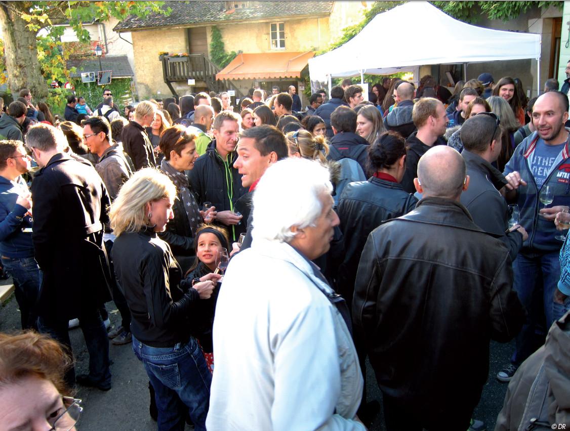 Record d'affluence à la fête de la St-Martin de Peissy