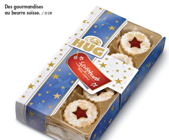 Les biscuits Hug parés pour Noël