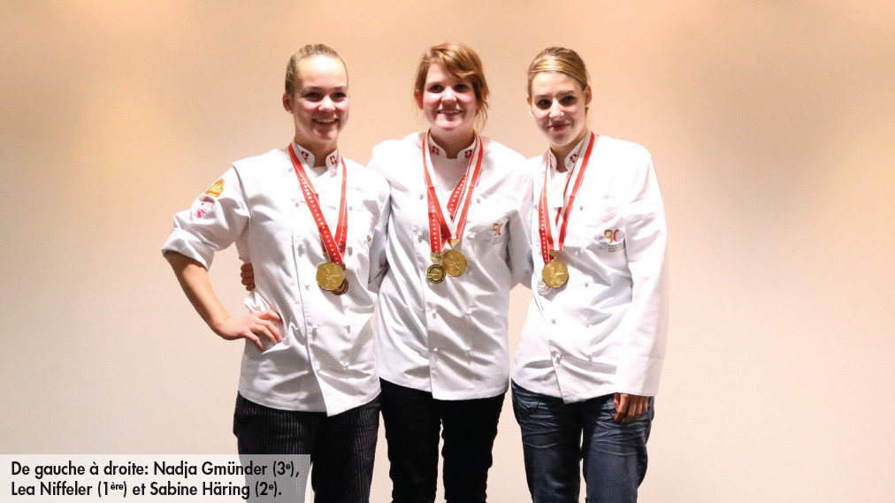 Une Lucernoise championne suisse de pâtisserie-confiserie