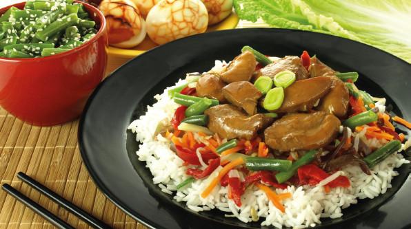 Nouvel an chinois: des plats porte-bonheur