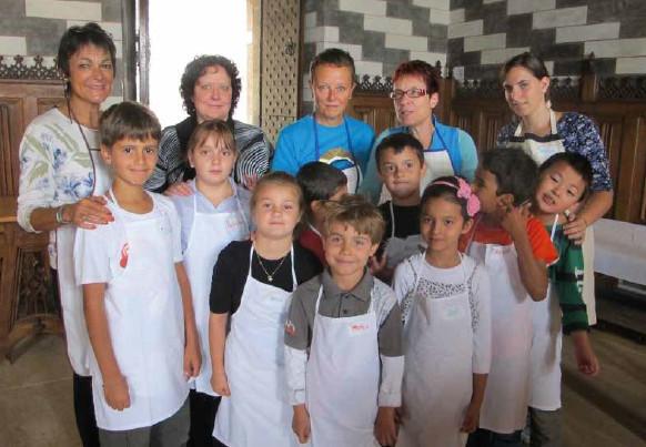 La cuisine, à bonne école