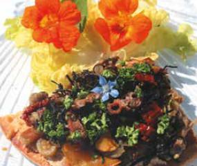 Des légumes atypiques  et à la mode: les algues