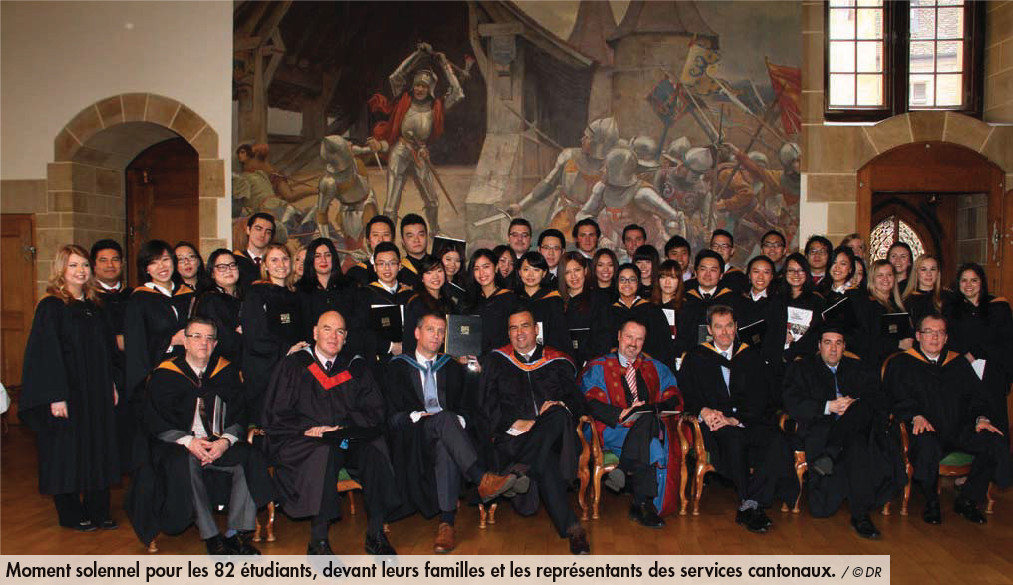 Nouveaux diplômés de l'école IHTTI