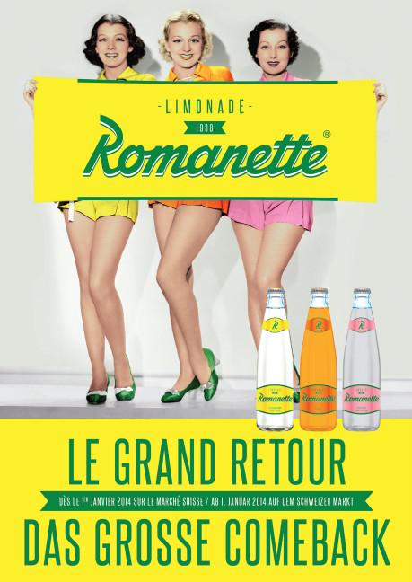 La réapparition d'une limonade historique