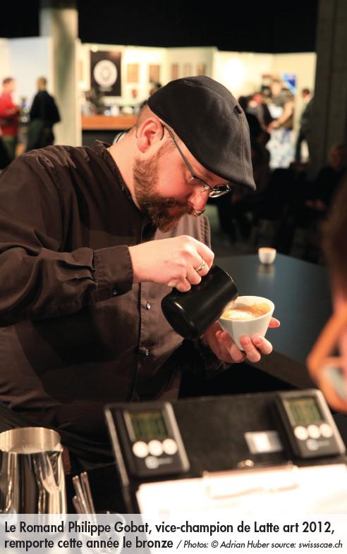 Les Latte artists et les baristas étaient aux championnats suisses du café