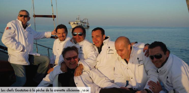 Les chefs Goutatoo Genève dans les vignes de Sicile