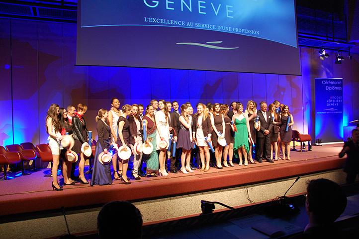 L'Ecole Hôtelière de Genève remet ses diplômes