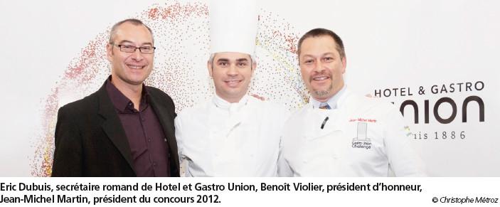 La jeunesse au défi  du Gastro Union Challenge