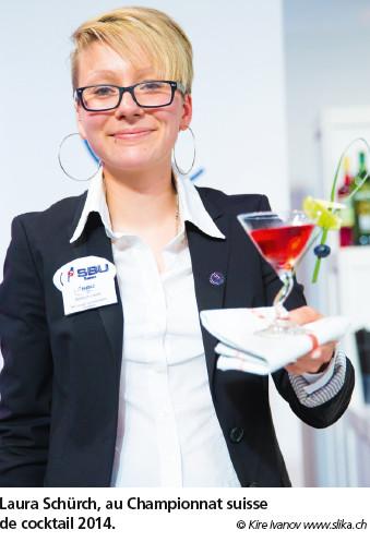 Laura Schürch: «Un cocktail doit être un tout, rond et harmonieux»