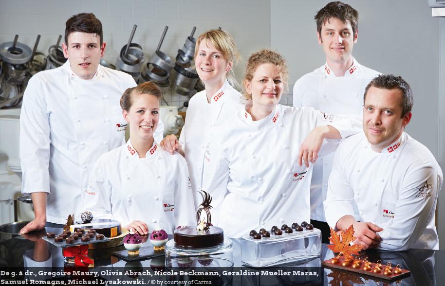 Qui sera le maître chocolatier suisse 2015?