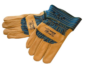 Les gants dans la cuisine d'un restaurant