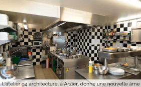 architecte de restaurants et d'histoires