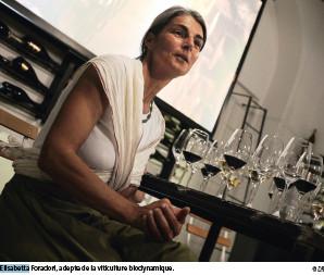 Elisabetta Foradori, adepte de la viticulture biodynamique. © DR Entr'Acte