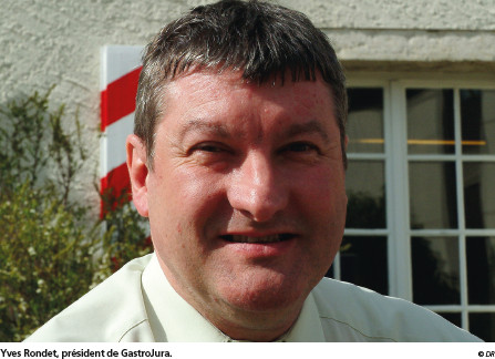 Yves Rondet, président de GastroJura. © DR