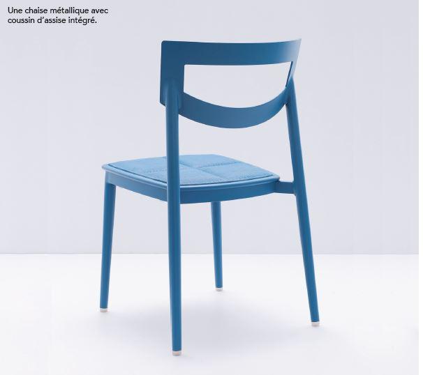 Quand la chaise et le coussin ne font plus qu'un