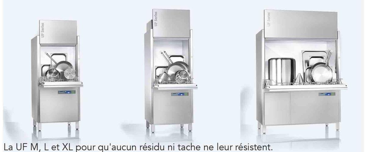 La nouvelle gamme de lave-ustensiles UF de Winterhalter: l'innovation au service du confort