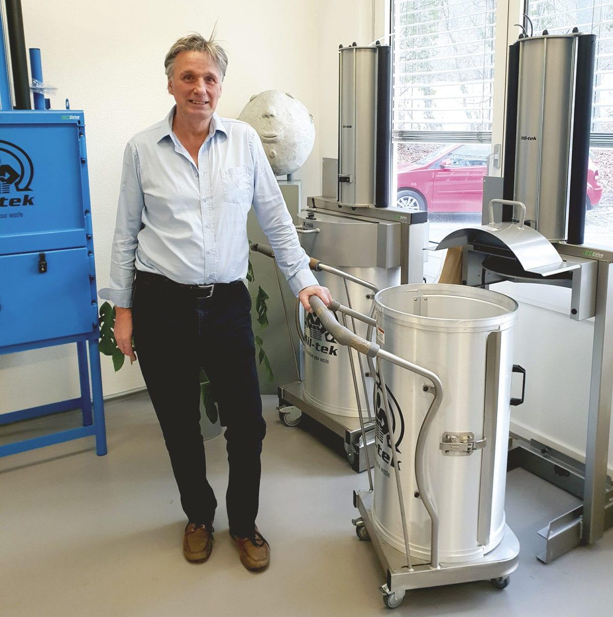 Mil-tek, les presses à déchets écologiques et économiques