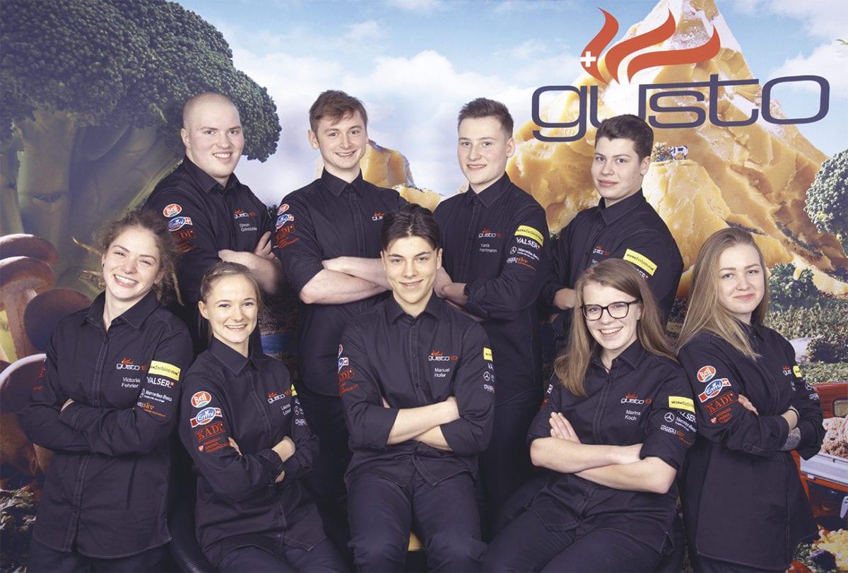 Voici les neuf finalistes de «gusto19»