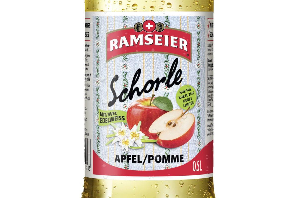 Le nouveau  Ramseier Edelweiss Schorle