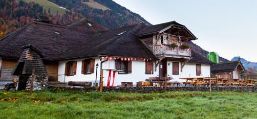 La mythique buvette d'alpage Chez Boudji