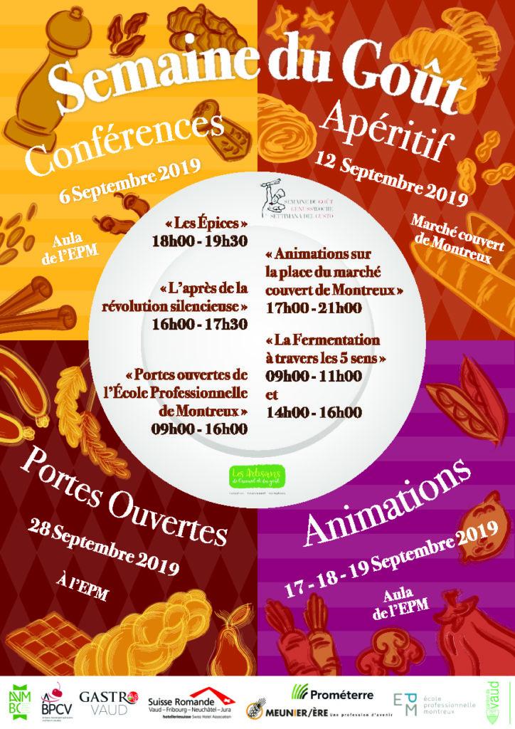 Portes ouvertes à l'Ecole Professionnelle de Montreux (EPM).  Le 12septembre prochain, le public est invité à découvrir les métiers de l'alimentation, dans le cadre de la Semaine du Goût Suisse.