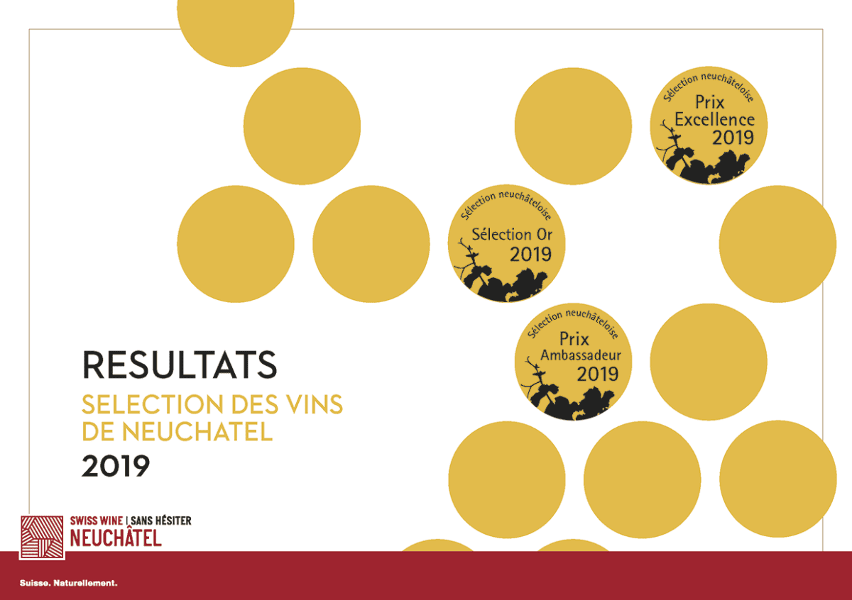 Grand Prix du Vin Suisse 2019: les Neuchâtelois confirment
