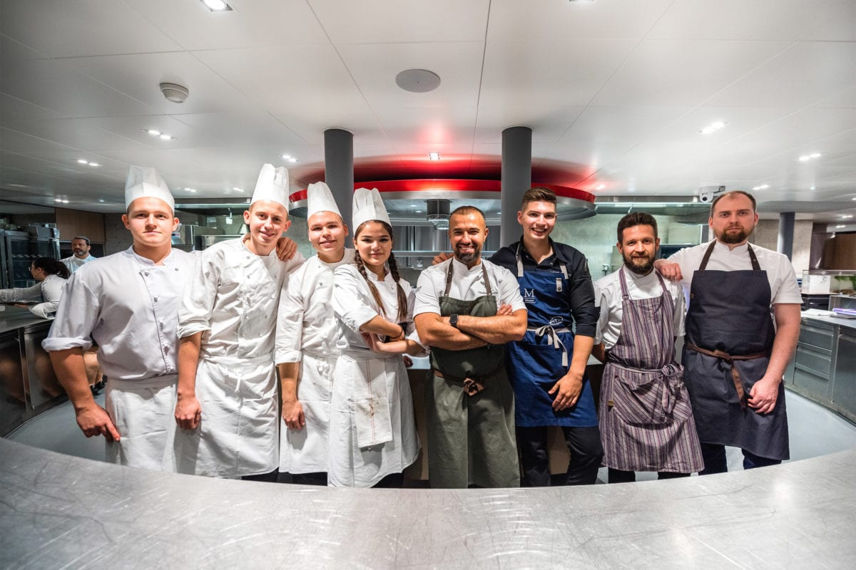 Vladiminir Mukhin à l'Académie des arts culinaires suisses