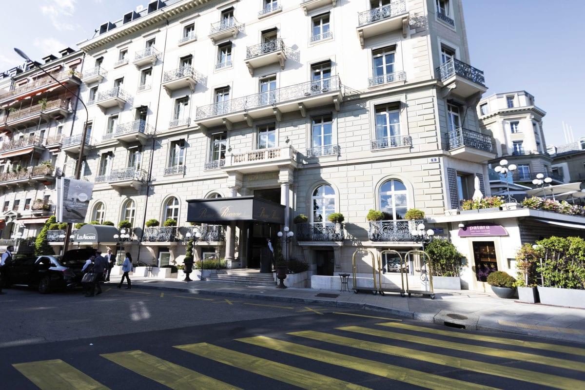 Le Cuisinier d'Or au Beau-Rivage Genève