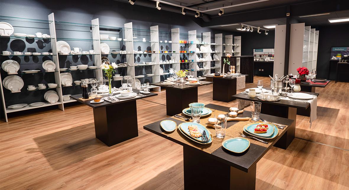 Banholzer Vevey, un Showroom consacré à la restauration
