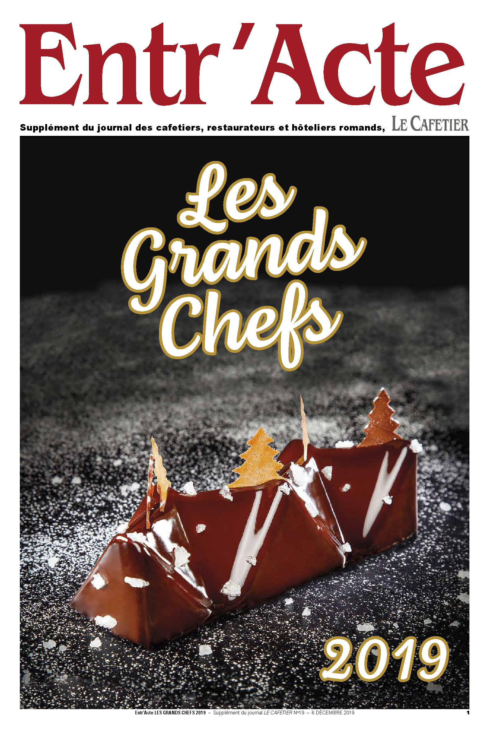 Entr'Acte Les Grands Chefs 2019