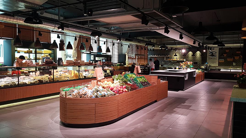 La Halle des Sens: du marché à la table