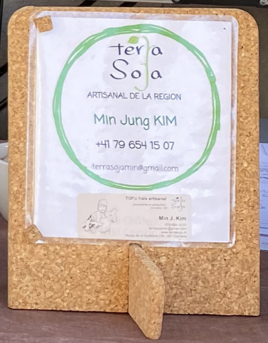 Le tofu de Coinsins