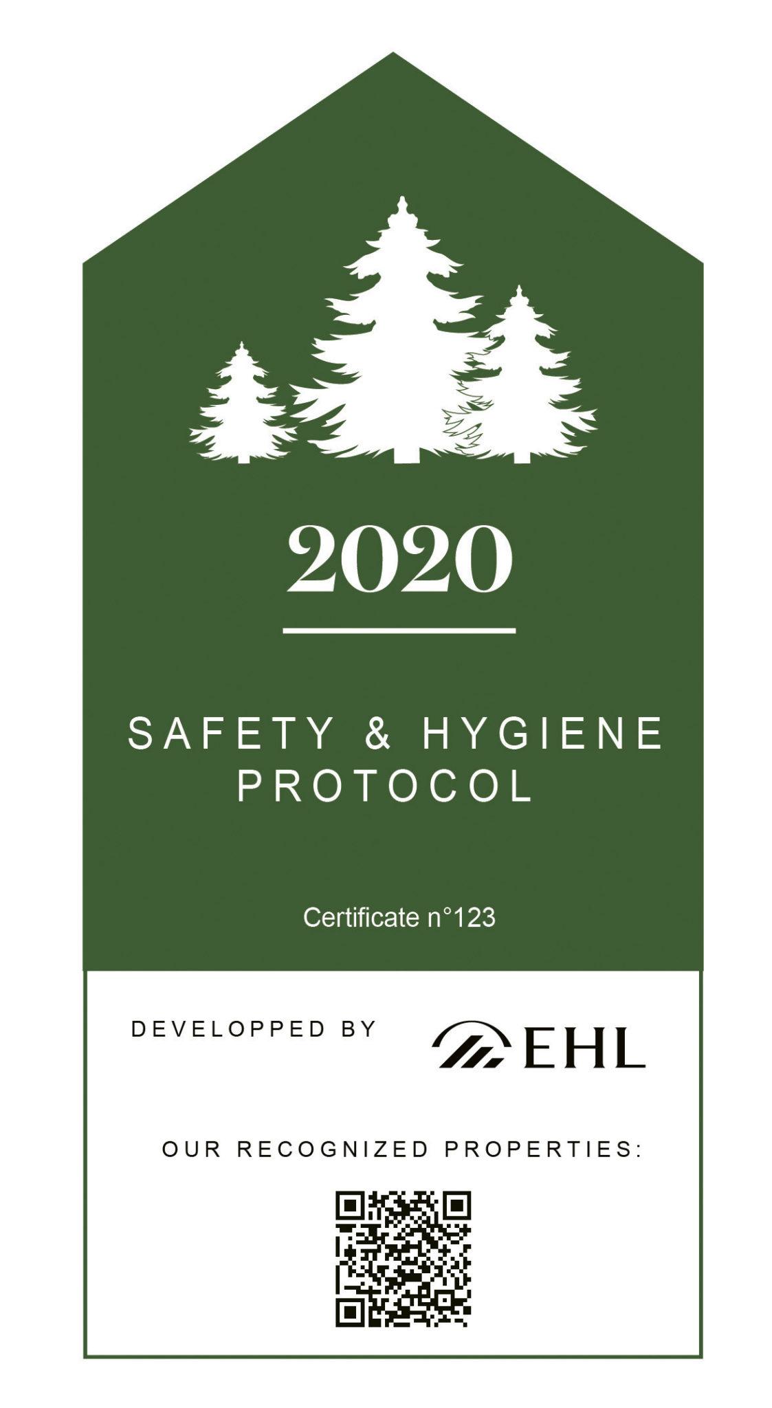 Label de sécurité et d'hygiène pour les hôtels