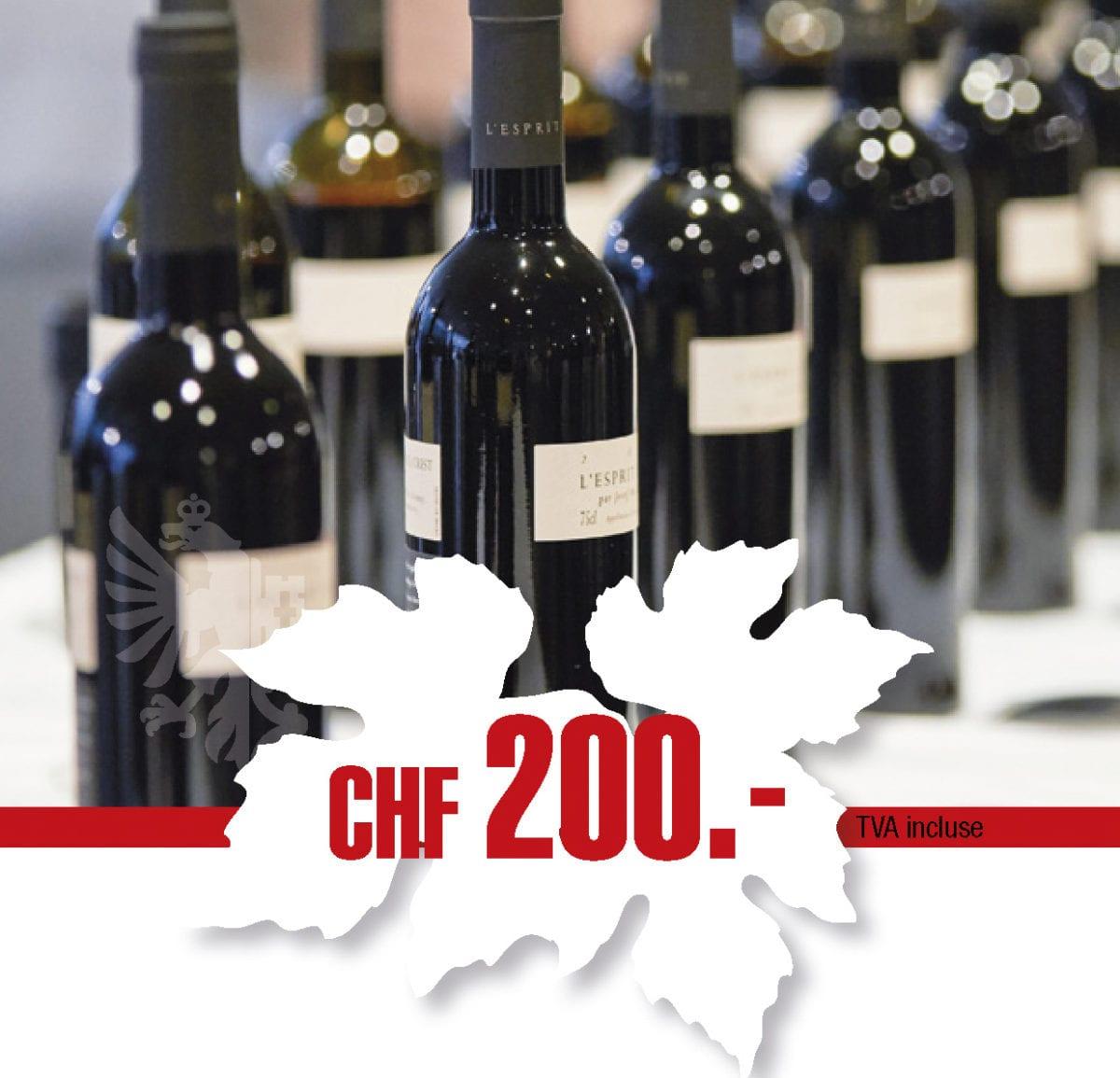 Bon d'achat pour les vins genevois «Une formidable opportunité»