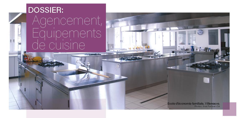 L'aménagement des cuisines évolue
