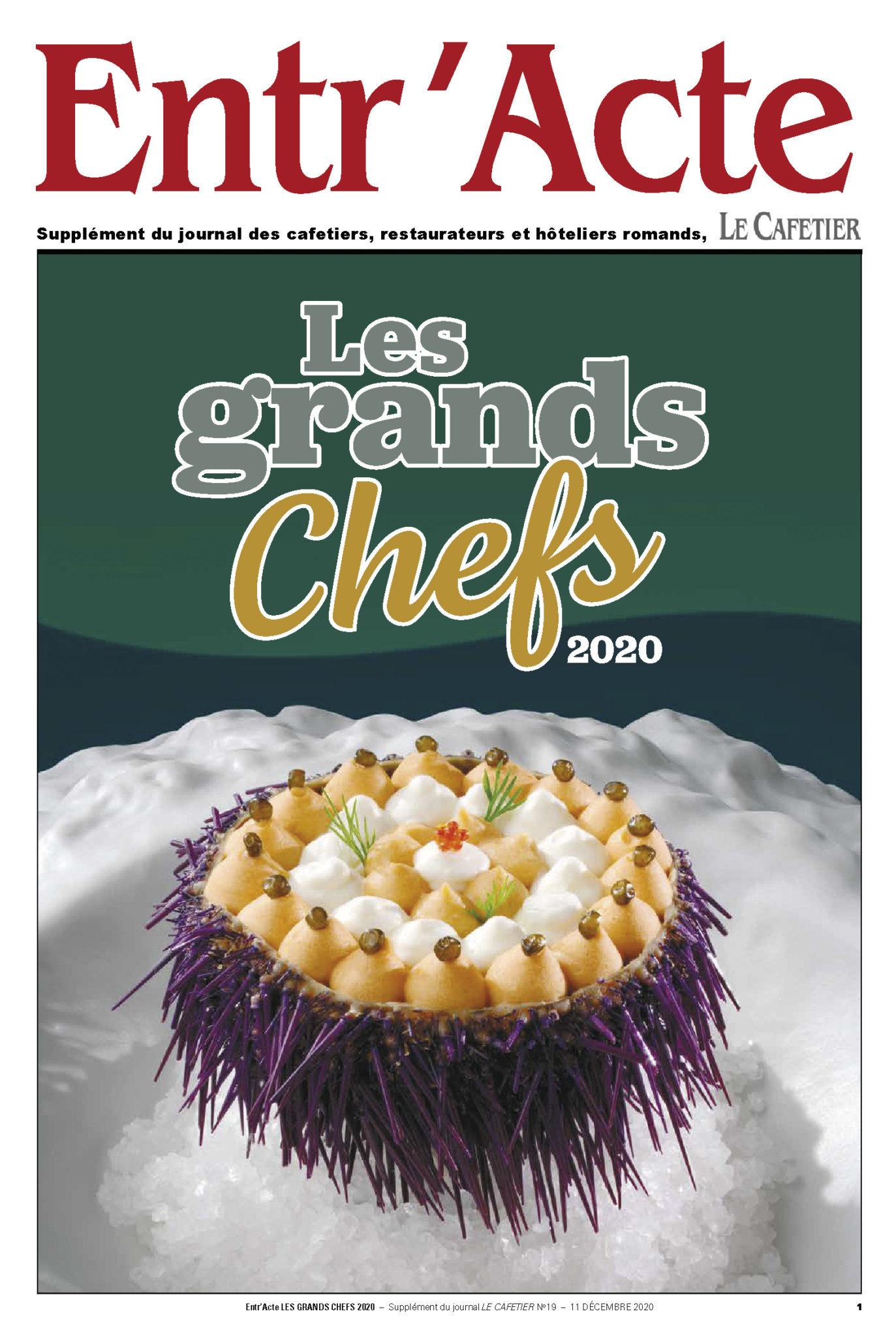 Entr'Acte Les Grands Chefs 2020