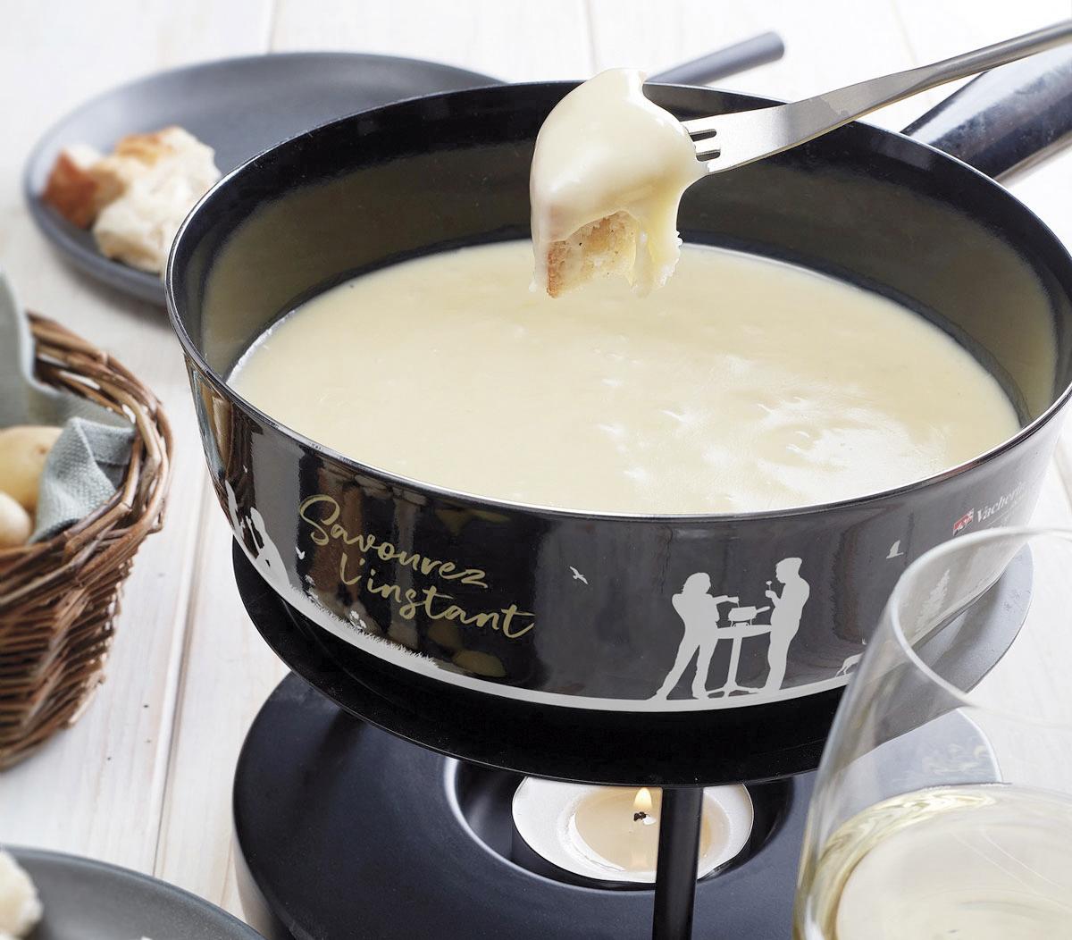 Les mélanges à fondue compromettent parfois  la mise en valeur des fromages